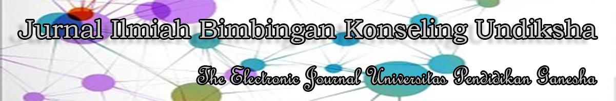 Jurnal Ilmiah Bimbingan dan Konseling